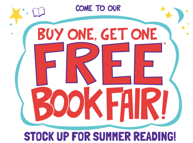 PWS Buy One Get One Free Book Fair