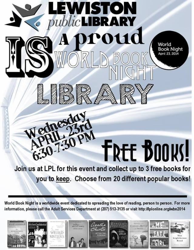 World Book Night is Tonight!